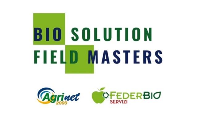 Grafica di Biosolution Field Master con i loghi di Agri2000 Net e FederBio