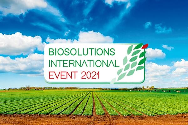 Grafica di Biosolution International Eventi 2021