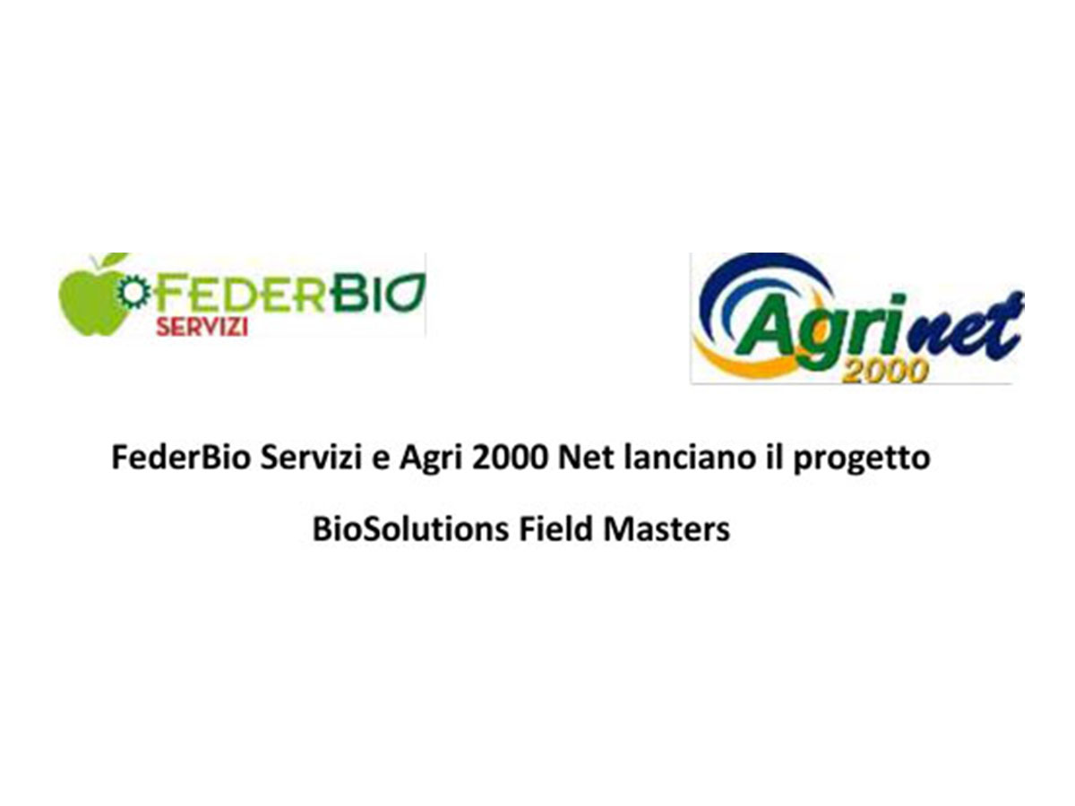 FederBio and Agri2000 Net create  BioSolutions Field Masters project