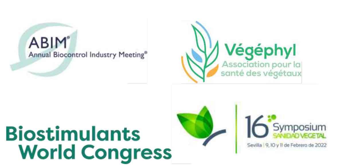 Loghi di ABIM, Vegephyl, Biostimulants Word Congress, 16 Symposium